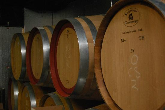 Palumbo Family Vineyards & Winery : Barrel Room