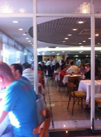 restaurante Viena - parte interna