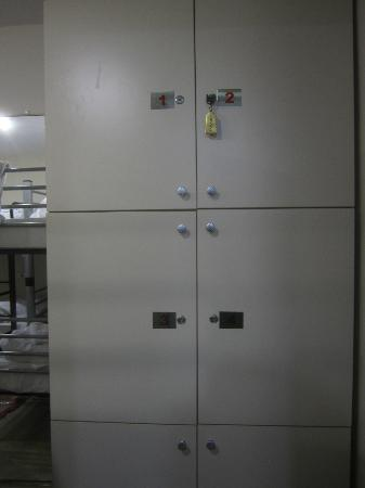 Yakamoz Guesthouse: Lockers in rooms for each occupant