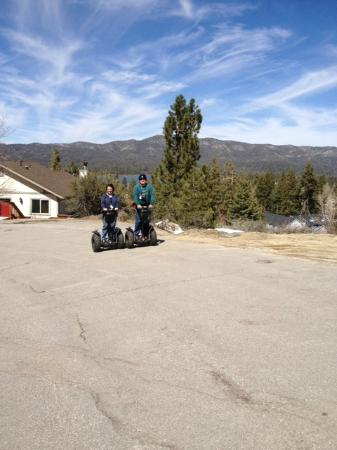 Action Segway Tours: R & K With Big Bear Lake
