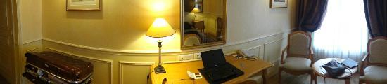 Hotel Lotti Paris: panorama of the room