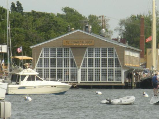 Chart House : View from the Annapolis City dock