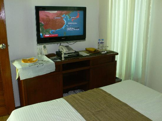 Acuatico Beach Resort & Hotel: Family room view