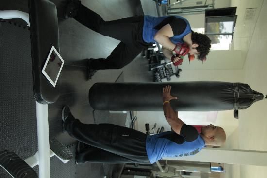 Destination Fit4LA: boxing work