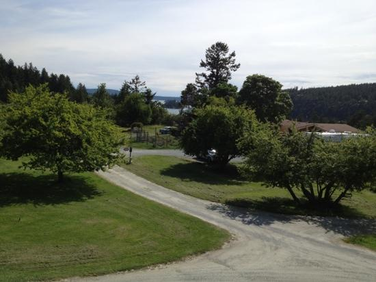 Deer Harbor Inn: View from our room at the Lodge
