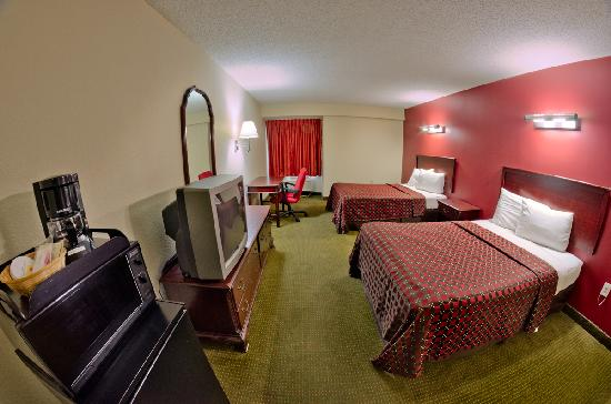 Red Roof Inn Charlotte UNCC: Double Bedroom