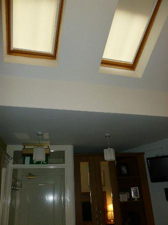 The Merchant House: Skylight - this might affect your sleeping. Wasn't sure if water would come in if we opened it