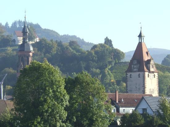 Schwarzwald-Hotel Gengenbach: View across Gengenbach