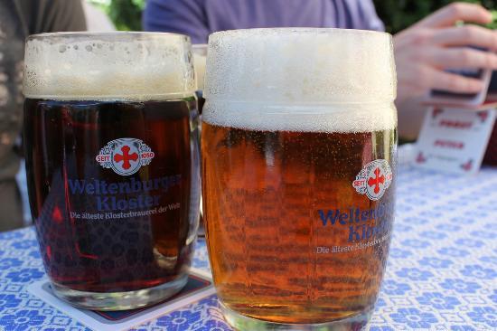 Klosterschenke Weltenburg: The famous award winner is the dark beer.