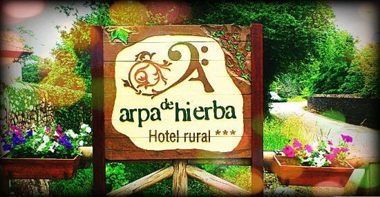 Hotel rural Arpa de Hierba: Entrada al Hotel