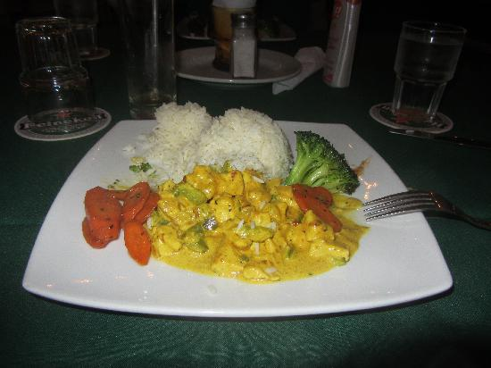 Eddy's Bar & Restaurant: Chicken Curry