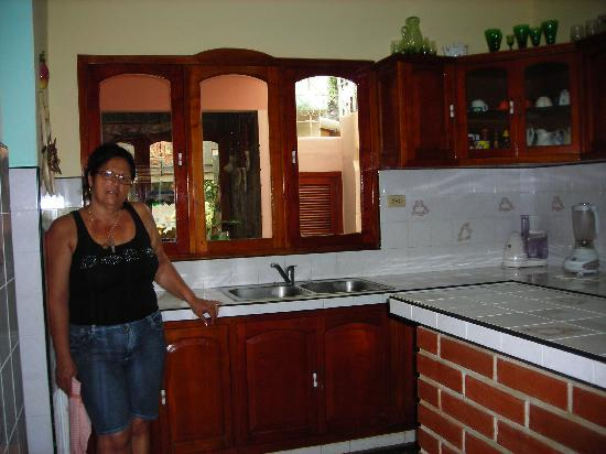 Casa Particular Hostal Zobeida : zobeida dans la cuisine