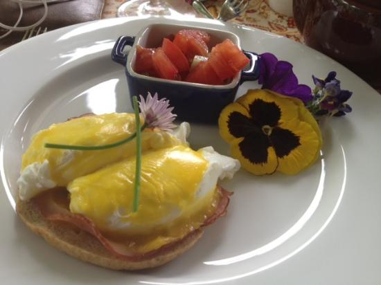 Wine Country Bed & Breakfast : Sunday Breakfast