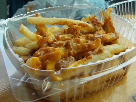 Texas Hot Lunch / 4 Sons: Greek fries with cheese