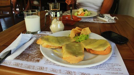 Hotel Posada Sian Ka'an: Desayuno