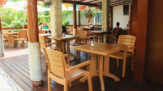 Hotel Posada Sian Ka'an: Donde desayunamos