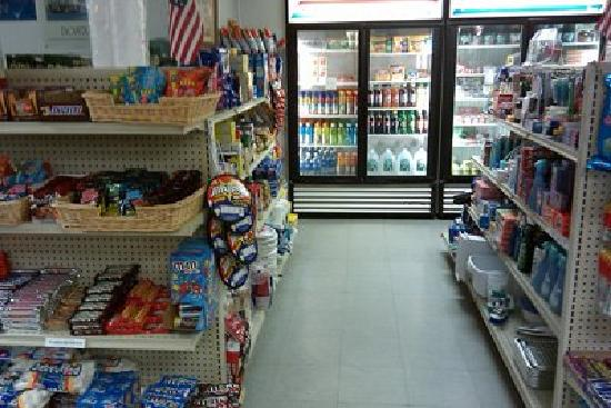Boston Minuteman Campground: Fully stocked store, clean restrooms, pay-by-the-gallon propany fill station & 24-hour laundry