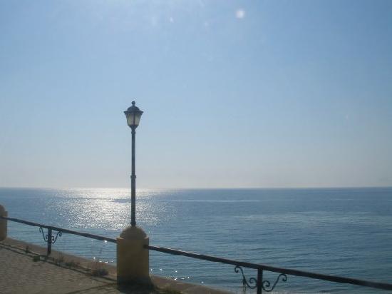 Aegean sea view from Rhodes town