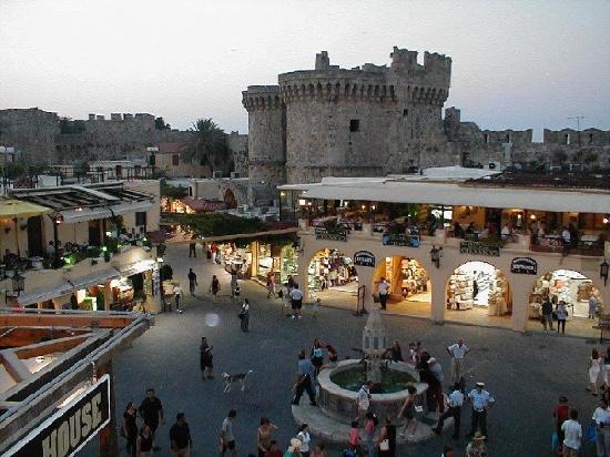 Rhodos, Griechenland: Old city of Rhodes