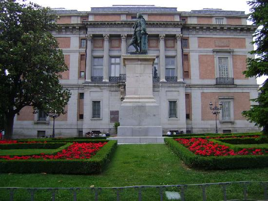 Paseo del Prado, Madrid.