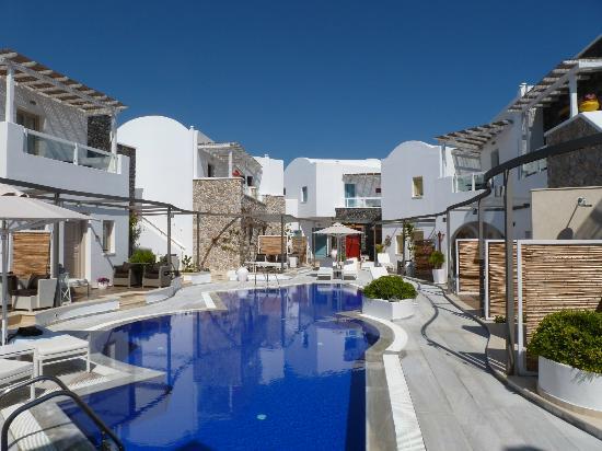 La Mer Deluxe Hotel & Spa: Blick aus unserem Zimmer