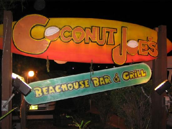 Coconut Joe's Beach Bar & Grill: Welcome to Joe's