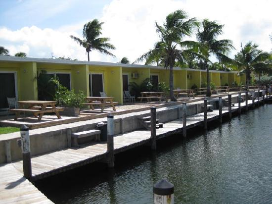 Coconut Cay Resort & Marina: A view down our canal
