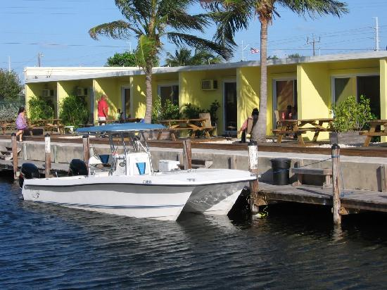 Coconut Cay Resort & Marina: Right out you back door