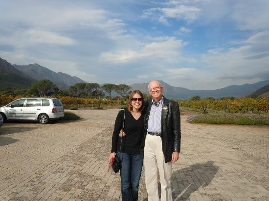 Gourmet Wine Tours: Stephen and Me!