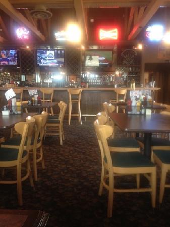 Buffalo Point: bar area