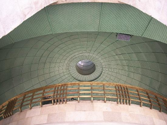 Monumento y Museo de la Revolucion: Inside the dome from the observation deck.