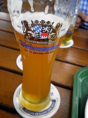 Weihenstephan: ビアガーデンで飲んだビール