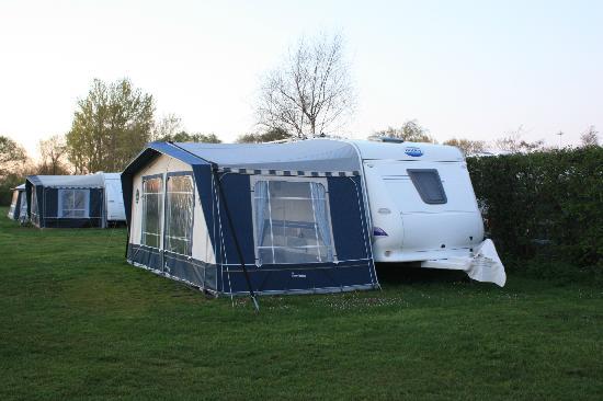 Vesterlyng Camping: A caravan .. impressive!
