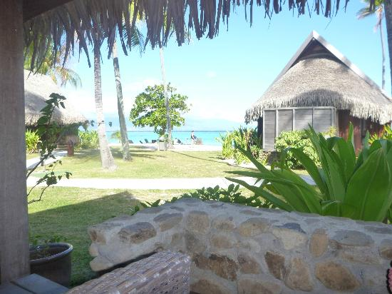 View From Garden View Bungalow Picture Of Sofitel Moorea