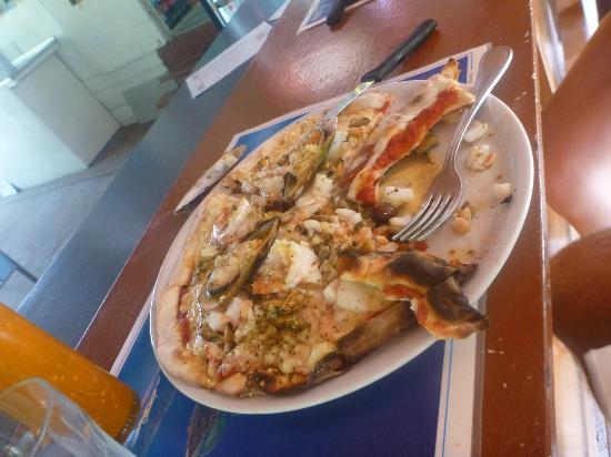 Pizza Daniel : Seafood pizza