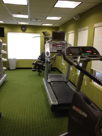Fairfield Inn & Suites Noblesville: fitness center
