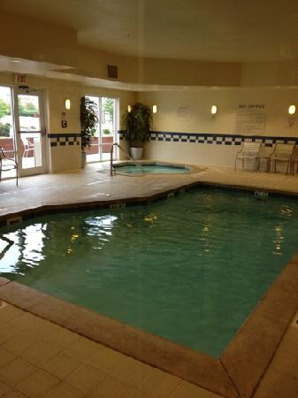 Fairfield Inn & Suites Indianapolis Noblesville: pool