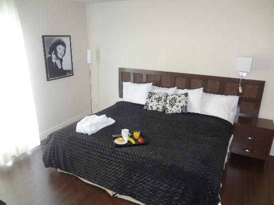 Hotel Kennedy: Chambre supérieure lit King Édith Piaf