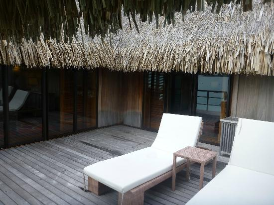The St. Regis Bora Bora Resort: back porch