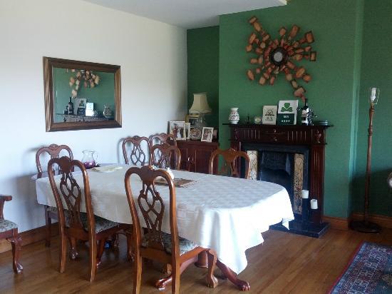 Desmond Lodge: Dining room