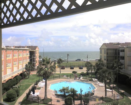 The Victorian Condo-Hotel Resort & Conference Center: Unobstructed ocean view from a Building 7 unit