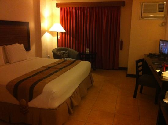 Hotel Tropika Davao : single occupancy room