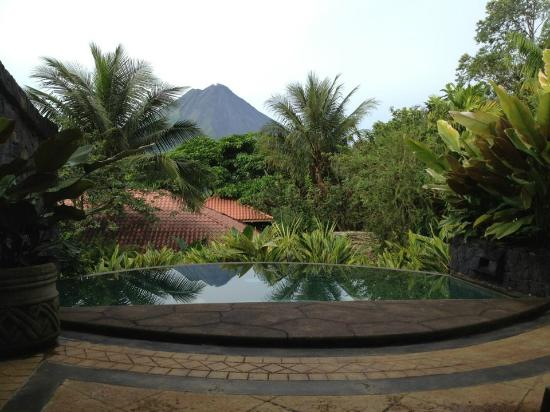 The Springs Resort and Spa: Arenal Volcano From Villa Calatea, Springs Resort, Costa Rica
