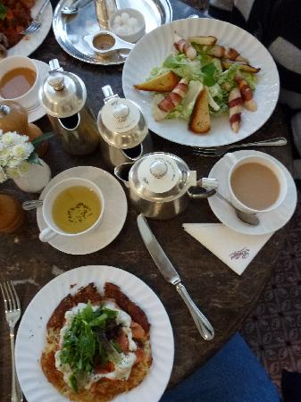 Bettys Cafe Tea Rooms - Harlow Carr: rosti and caesar salad