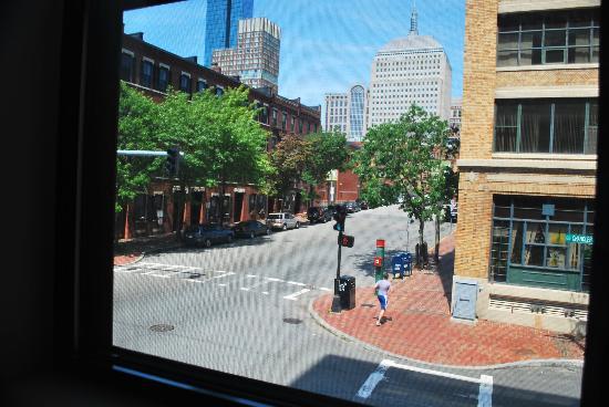 Chandler Inn: Vista desde el primer piso