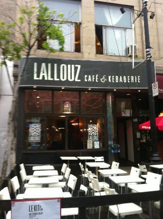 Lallouz Cafe & Kebaberie: 1327 Rue Sainte-Catherine Est