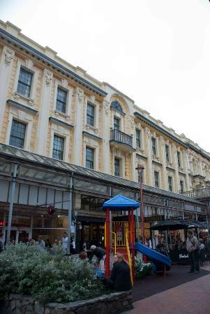 Distrito de la calle Cuba: Cuba St in Wellington