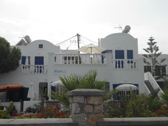 Oceanis Bay Studios from front