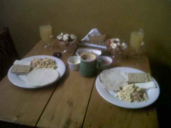 La Montana Magica: Un desayuno delicioso
