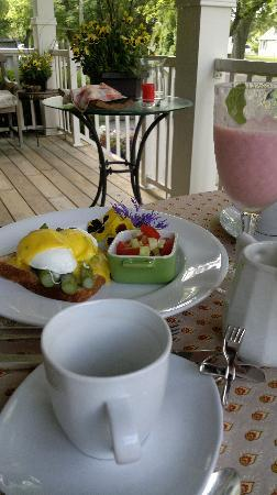 Wine Country Bed & Breakfast: Awesome breakfast
